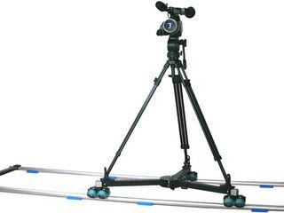 Indie dolly / swift wheel dolly & track rail kit ( 5m )