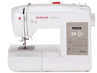 Компьютеризированная швейная машина Singer 6180 Brilliance (80 строчек, 8 лапок, столик) - 3800 лей