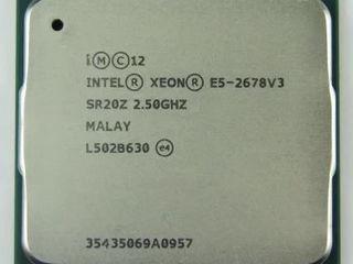 Xeon E5-2678v3 12 ядер 24 потока
