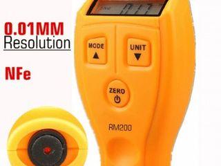Tолщиномер лакокрасочных покрытий Richmeters RM-200 – это легкий и удобный в использовании прибор