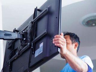 Установка плазменных телевизоров LCD, LED, PLASMA на стену. Качественно. Кронштейны для ТВ.
