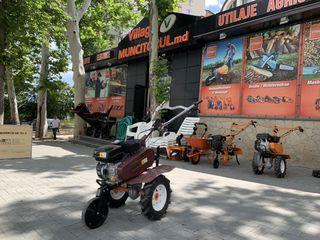 Set basarab include motocultivator cu roti si freza plus 2  pluguri cadou! Economisiti 650 lei