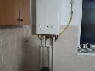 сантехнические услуги, автономное отопление