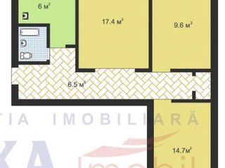 Меняю-3х-комнатную квартиру на 1-комнатную+евра