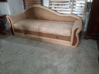 Диван Кровать раскрытая 1 м 50 .с яшиком для белья