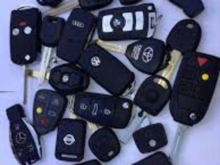 Confectionarea cheilor auto Deschiderea masinelor