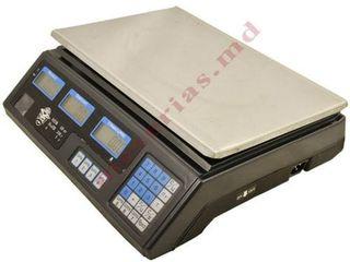 Cîntar comercial electronic de masa 40 кg livram la domiciliu+garantie 1 an