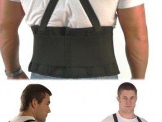 Centura cu bretele / suport spate si abdomen pentru ridicat greutati indreptat spate !!!