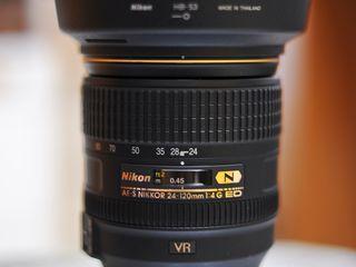 Nikkor 24-120mm 1:4G ED VR