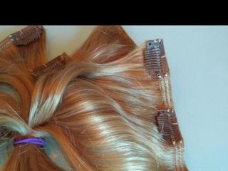 Трессы 60 см ,натур блонд