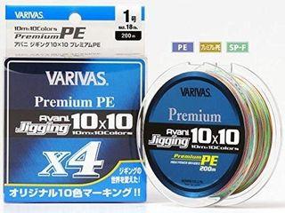 Шнур Varivas Avani Jigging 10x10 Premium x4 New!!! ( #1.0/ #1.2) 200m