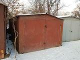 Продается металический гараж 6м x3 м на рышкановке возле феносы, либо обмен на авто