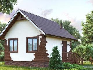 Дача под ключ за пять недель. Строительство СИП домов в Молдове.