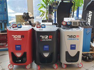 Оборудование заправки автокондиционеров Texa и Ecotechnics (Италия).