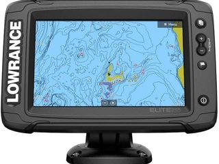 Lowrance Elite-7 Ti2 Fishfinder/Chartplotter Combo with Active Imaging 3-in-1