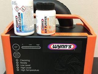 Wynns профессиональная антибактериальная обработка системы кондиционирования