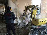 Снос демонтаж внутрених строений demolarii  interioare