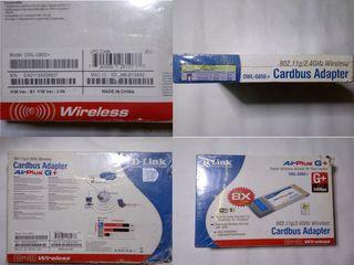 Продам беспроводной CardBus-адаптер D-Link DWL-G650+