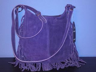 Новые кожаные сумки Hexagona,Smiley,H&M.