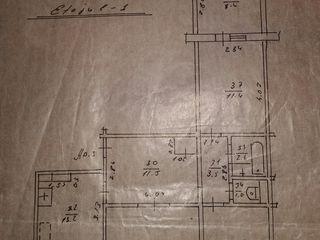 Apartament cu 3 odai ..82 m2