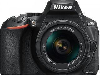 Фотоаппарат зеркальный Nikon D5600 kit AF-P 18-55VR bk