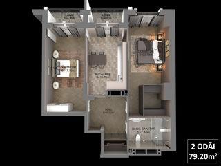 Ultimele!!! apartamente cu 2 odai, centru, de la 750 euro/m2 direct de la constructor