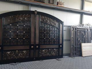 Gard și porti din fier forjat tare