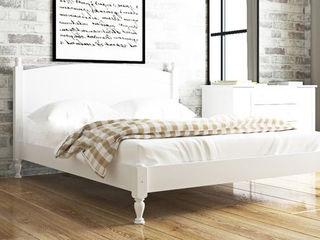Кровать из натурального дерева Л-207/ Pat din lemn natural