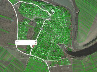 Продаем 66 соток под строительство,  первая линия в с. Фурчень, Оргеевский р-он!!!