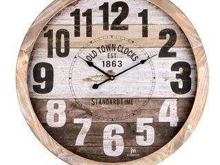 Настенные часы больших размеров из Италии  «JM—justaminute». Доставка по Молдове.