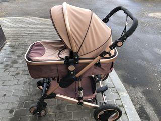 Детская коляска 3 в 1 (с рождения - до 5 лет) автокресло. Продам