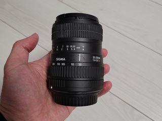 Sigma 24-70 3.5-5.6 Sigma 55-200 4-5.6