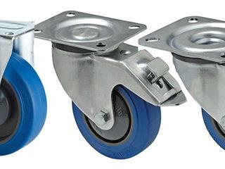 Roti pentru constructii roti mobile de la diametru 050 - 250mm , made in Polonia