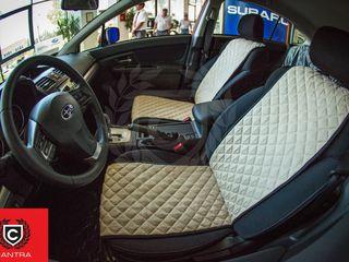 Huse exclusive din alcantara pentru automobile - Автомобильные накидки класса премиум из алькантары