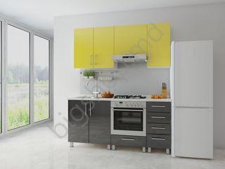 Bucatarie Fabric home Concord Gardenya/Negru 1.8 m. Super preț!!