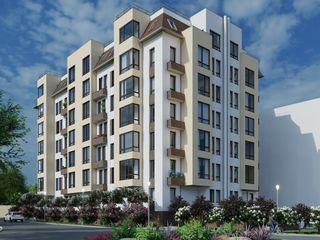 Astercon Grup - apartament cu 3 odăi suprafața 83.55 m2, 610 €/m2, mun.Chișinău, com.Stăuceni
