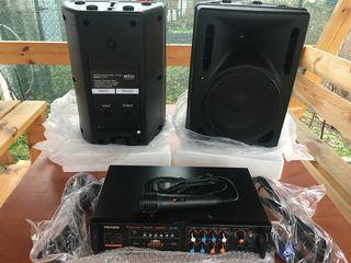Profesoinall Karaoke, Boxe (2400lei), mixer-amplificator AV-308(1500 lei) !!!