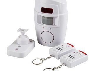 Alarma wireless cu senzor de miscare si doua telecomenzi