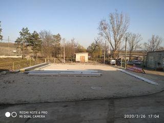 Аренда асфальтобетонной площадки 3000 кв м Белцы по обьездной возле Тирекса с навесом 500 кв м