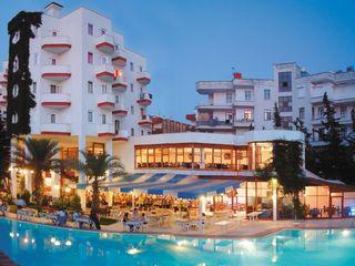 Green Peace 3*all, Alanya. Турция по цене Болгарии !!! Зонты и шезлонги на пляже!