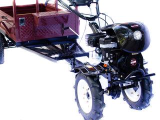 Motocultivator worker hb 700 rs-line + remorca ! Motobloc ! мотоблоки