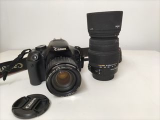 Canon EOS 600D + 35-105mm + Sigma 50-200mm