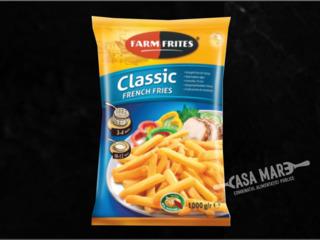 Cartofi pai pentru fast food și restaurante