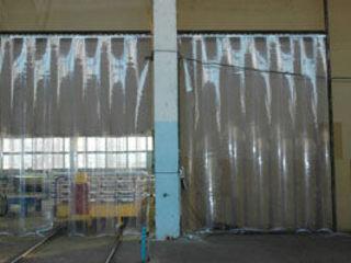 прозрачная изоляция помещений перегородки
