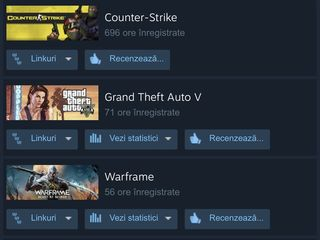 Vând cont steam, vechime aproape 4 ani, are VAC Ban !!!
