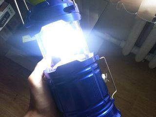 Кемпинговый фонарь 3 в 1