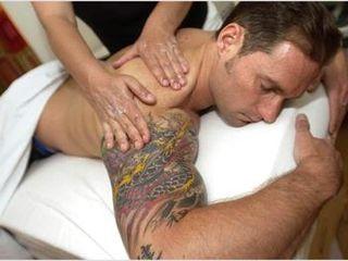 Deep tissue and swedish full body massage