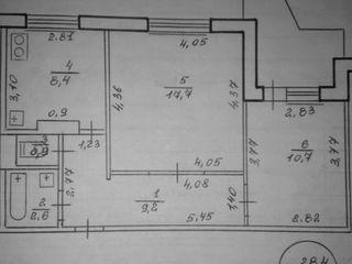 Продается 2-комнатная квартира в г. Рыбница, по ул.Вальченко у таможни