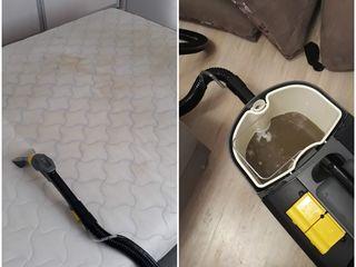 Curatare canapele  -  чистка мебели