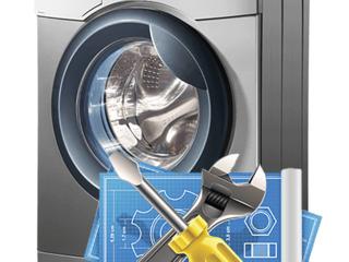 Reparații profesioniste la domiciliu a mașinilor de spălat.